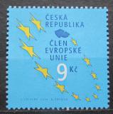 Poštovní známka Česká republika 2004 Vstup do Evropské unie Mi# 393