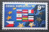 Poštovní známka Česká republika 2004 Deset nových členů Evropské unie Mi# 394