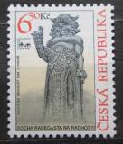 Poštovní známka Česká republika 2004 Socha Radegasta Mi# 402