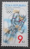 Poštovní známka Česká republika 2004 LOH Atény, cyklistika Mi# 404