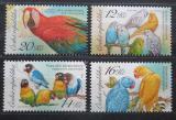Poštovní známky Česká republika 2004 Papoušci Mi# 406-09