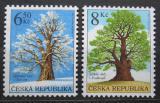 Poštovní známky Česká republika 2004 Stromy Mi# 410-11