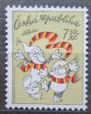 Poštovní známka Česká republika 2005 Křemílek a Vochomůrka Mi# 437
