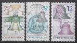 Poštovní známky Česká republika 2005 Zvony Mi# 443-45