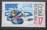 Poštovní známka Česká republika 2005 Curling Mi# 450