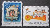 Poštovní známky Česká republika 2005 Vánoce Mi# 454-55