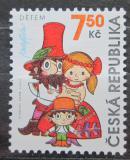 Poštovní známka Česká republika 2006 Rumcajs, Manka a Cipísek Mi# 474