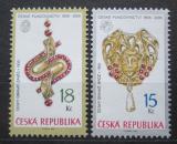 Poštovní známky Česká republika 2006 Umělecká řemesla Mi# 481-82