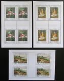 Poštovní známky Česká republika 2006 Umění Mi# 493-95 Bogen