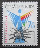 Poštovní známka Česká republika 2007 Prevence onkologického onemocnění Mi# 504