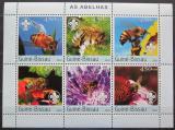 Poštovní známky Guinea-Bissau 2003 Včely Mi# 2636-41 Kat 11€ 1690