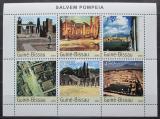 Poštovní známky Guinea-Bissau 2003 Pompeje Mi# 2375-80 Kat 11€