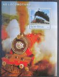 Poštovní známka Guinea-Bissau 2003 Parní lokomotivy Mi# Block 433 Kat 14€