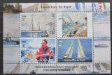 Poštovní známky Niger 1998 Historie plachetnic Mi# N/N