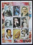 Poštovní známky Niger 1998 Osobnosti 20. století Mi# N/N