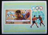 Poštovní známka Adžmán 1971 Box, Cassius Clay Mi# Block 308 Kat 7.50€