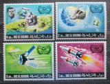 Poštovní známky Rás al-Chajma 1969 Průzkum vesmíru Mi# 317-20 Kat 7€