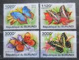 Poštovní známky Burundi 2011 Motýli Mi# 2122-25 Kat 9.50€