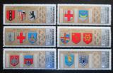 Poštovní známky Jemen 1968 Znaky olympijských měst Mi# 832-37 Kat 7€