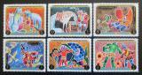 Poštovní známky Adžmán 1971 Dobrodružství barona Münchhausena Mi# 1021-26