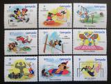 Poštovní známky Grenada 1984 Disney, LOH Los Angeles Mi# 1142-50 I A Kat 10€