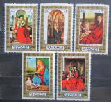Poštovní známky Fudžajra 1972 Umění, madony Mi# 876-80 Kat 6€