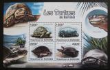 Poštovní známky Burundi 2011 Želvy Mi# Block 165 Kat 9.50€