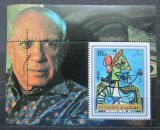 Poštovní známka Fudžajra 1972 Umění, Picasso Mi# Block 140 A Kat 6.50€