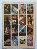 Poštovní známky Umm al-Kuvajn 1972 Průzkum vesmíru neperf. Mi# 1066-81 B Kat 25€