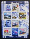 Poštovní známky Komory 2009 Lokomotivy Mi# 2280-85 Kat 11€