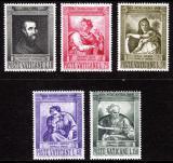 Poštovní známky Vatikán 1964 Umění, Michelangelo Buonarroti Mi# 454-58