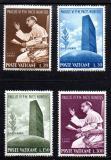 Poštovní známky Vatikán 1965 Papež Pavel VI. v OSN Mi# 483-86