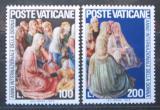 Poštovní známky Vatikán 1975 Fresky, Fra Angelico Mi# 670-71