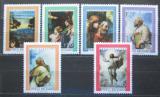 Poštovní známky Vatikán 1976 Umění, Raffael Mi# 683-88