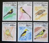 Poštovní známky Azerbajdžán 1996 Zpěvní ptáci Mi# 313-18