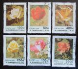 Poštovní známky Azerbajdžán 1996 Růže Mi# 320-25
