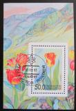 Poštovní známka Uzbekistán 1993 Tulipán Mi# Block 2