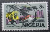 Poštovní známka Nigérie 1975 Výroba cementu Mi# 275 II X