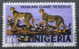 Poštovní známka Nigérie 1973 Gepard Mi# 279 I Y