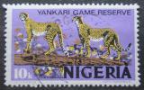 Poštovní známka Nigérie 1973 Gepard Mi# 279 II Y