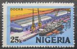 Poštovní známka Nigérie 1977 Přístav Mi# 284 II X