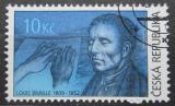 Poštovní známka Česká republika 2009 Louis Braille Mi# 584