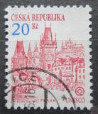 Poštovní známka Česká republika 1993 Praha Mi# 18