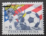 Poštovní známka Česká republika 1994 MS ve fotbale Mi# 45