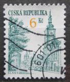 Poštovní známka Česká republika 1994 Slaný Mi# 52