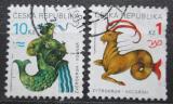 Poštovní známky Česká republika 1998 Znamení zvěrokruhu Mi# 199-200