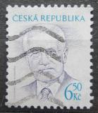 Poštovní známka Česká republika 2003 Prezident Václav Klaus Mi# 381