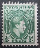 Poštovní známka Nigérie 1950 Král Jiří VI. Mi# 46 C