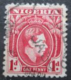 Poštovní známka Nigérie 1938 Král Jiří VI. Mi# 47 a