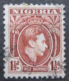 Poštovní známka Nigérie 1950 Král Jiří VI. Mi# 49 C